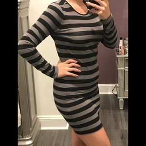 Forever 21 stripped dress